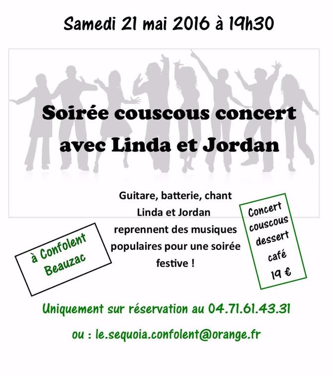Concert et couscous