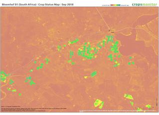 Free Regional Crop Status Maps