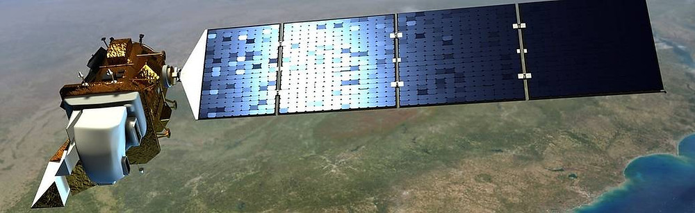 Landsat Earth observation satellite (source: NASA)