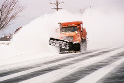 Primary Road Snow Plowing