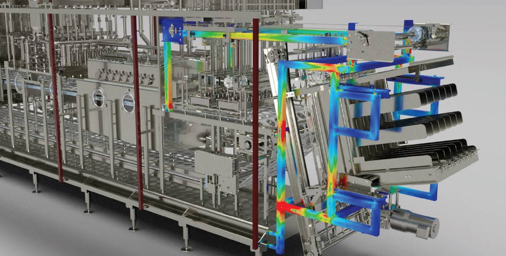 Structural Mechanical Analysis Machine FEA