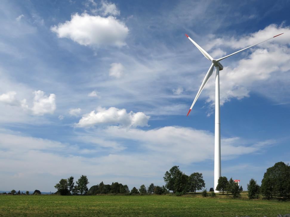 Duurzame energie windturbine