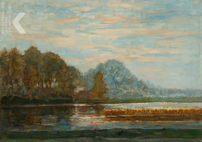 Piet Mondriaan - Fen near Saasveld