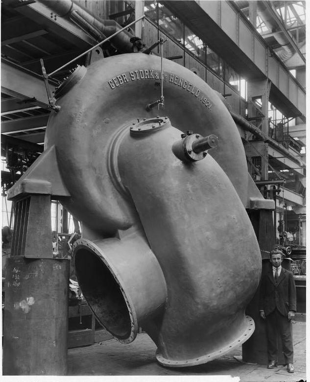 Stork centrifugaalpomp 1921
