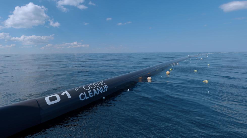 Ocean Cleanup. Keep up the good work!