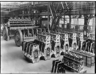 Stork Diesel montage 1930 1932