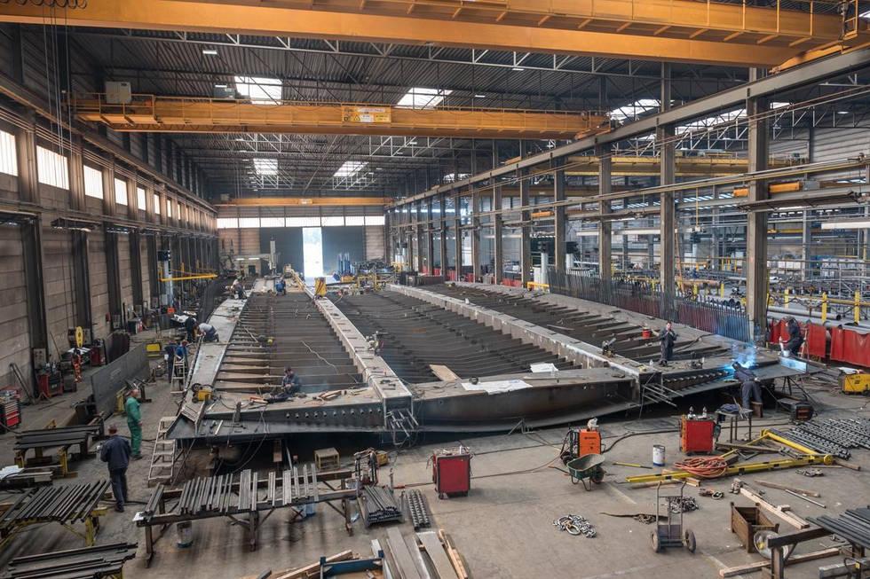 Steel bridge workshop