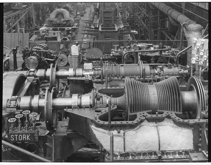 Stork Turbines HD LD + tandwielkast 1936