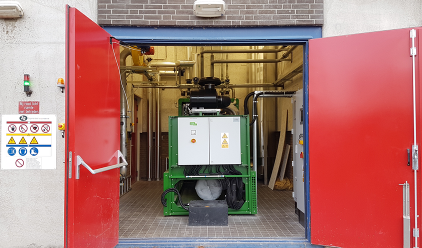 AWZI Tollebeek Biogas WKK