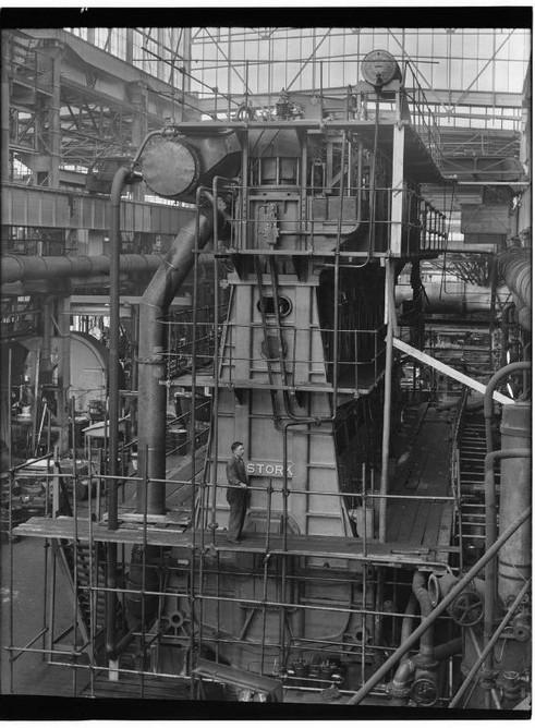Stork Dieselmotoren Compressorloze 8-cilinder