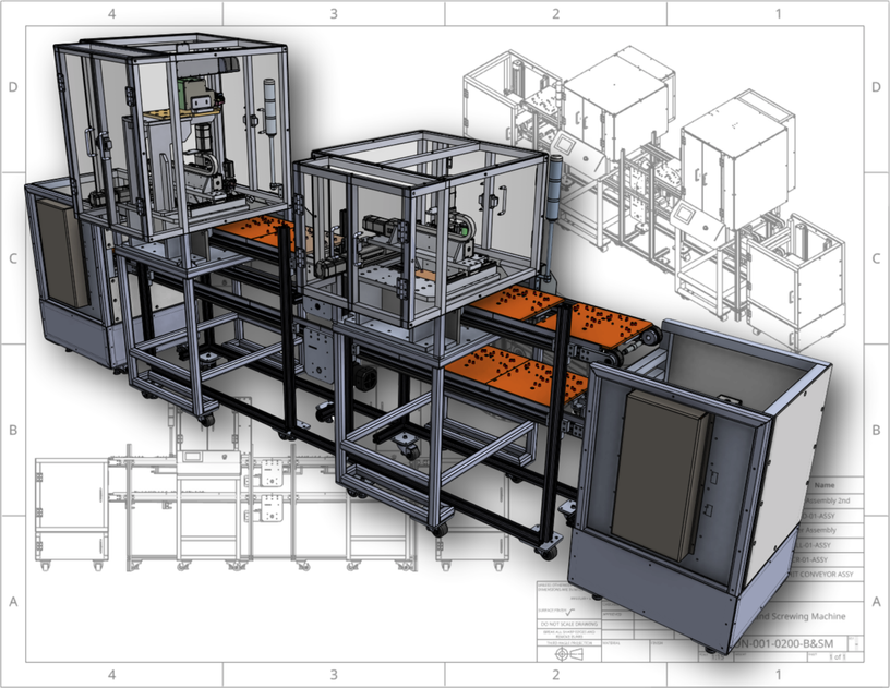 Onshape Complex Machine Design