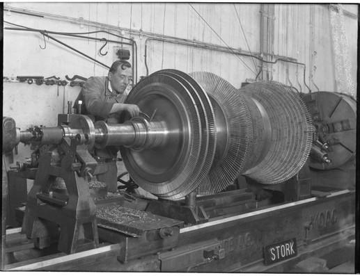 Stork Turbine verspaning 1936-1938
