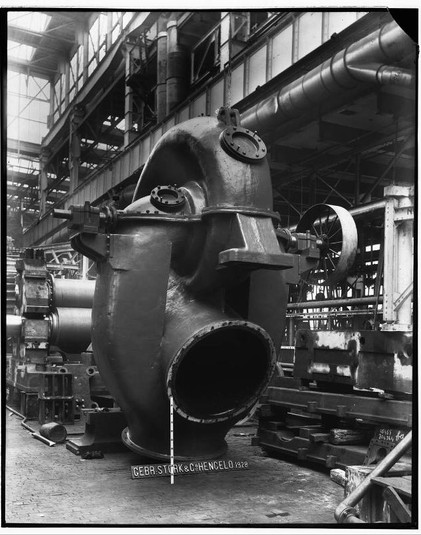 Stork centrifugaalpomp 1928-1930