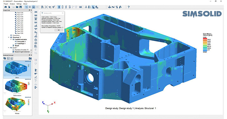 SimSolid-machined-plate-analysis