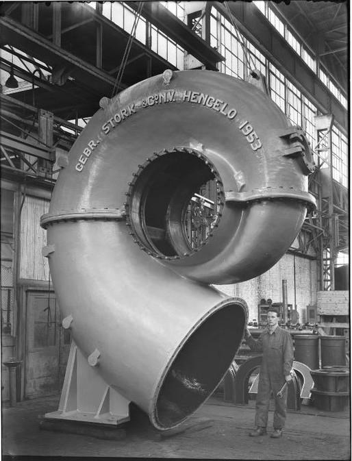 Stork Pompen centrifugaalpomp 1953
