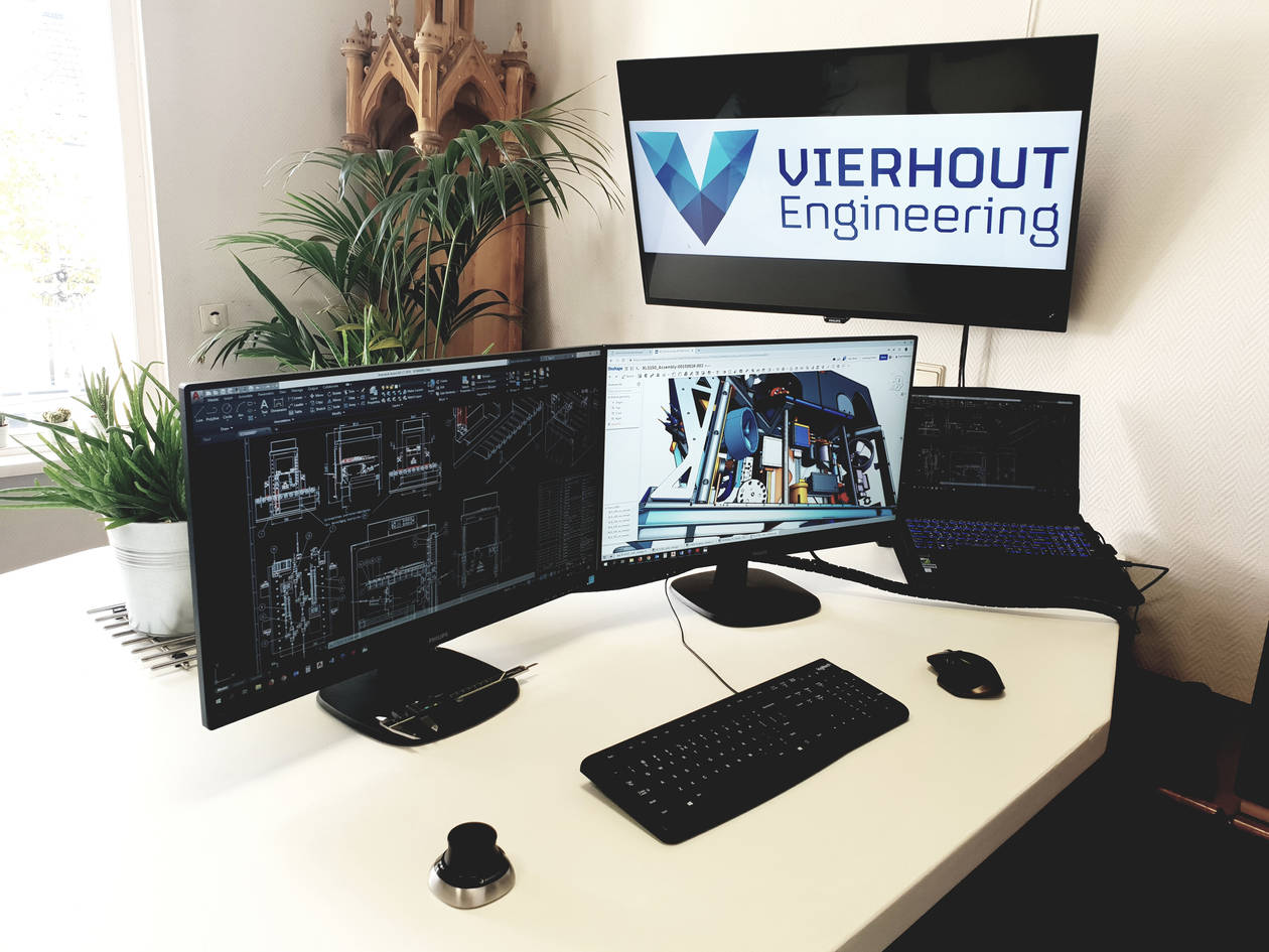 Vierhout Engineering Beursstraat-office.