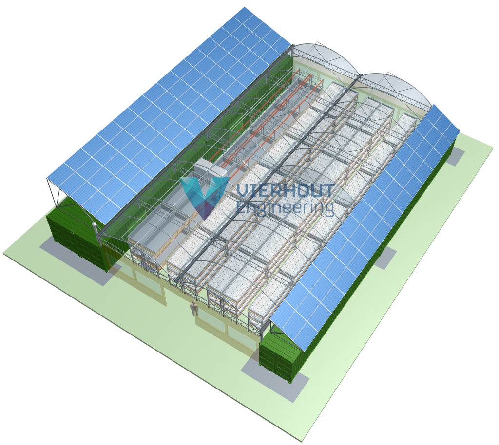 Aquaponics systems by Vierhout