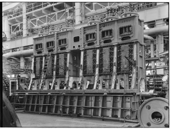 Stork Dieselmotoren 6-cilinder 2 tact 1940