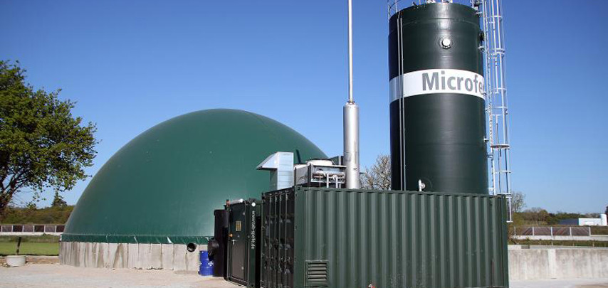 HoSt-Microferm biogas