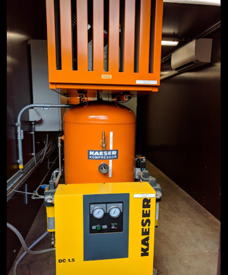 Verdygo Simpelveld compressor container.