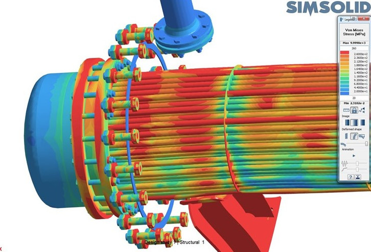 SimSolid Thermal stress