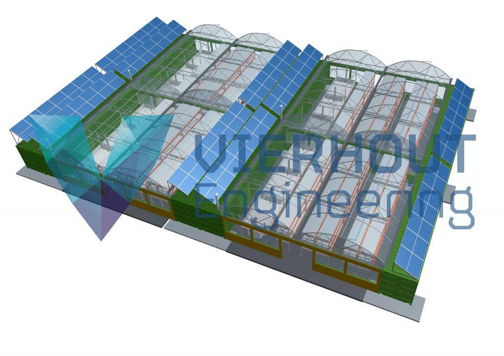 Aquaponics farm Vierhout