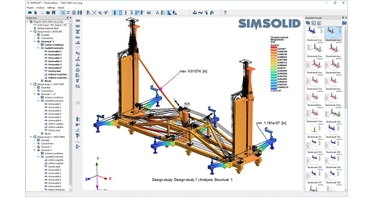 SimSolid-Analysis structural