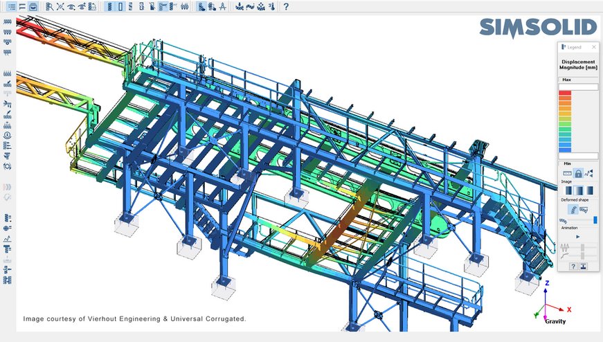 Vierhout Engineering SimSolid -  Structural analysis / simulation