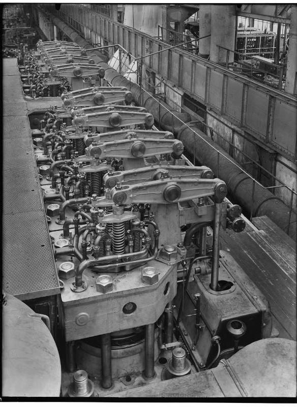 Stork Dieselmotor kleppen