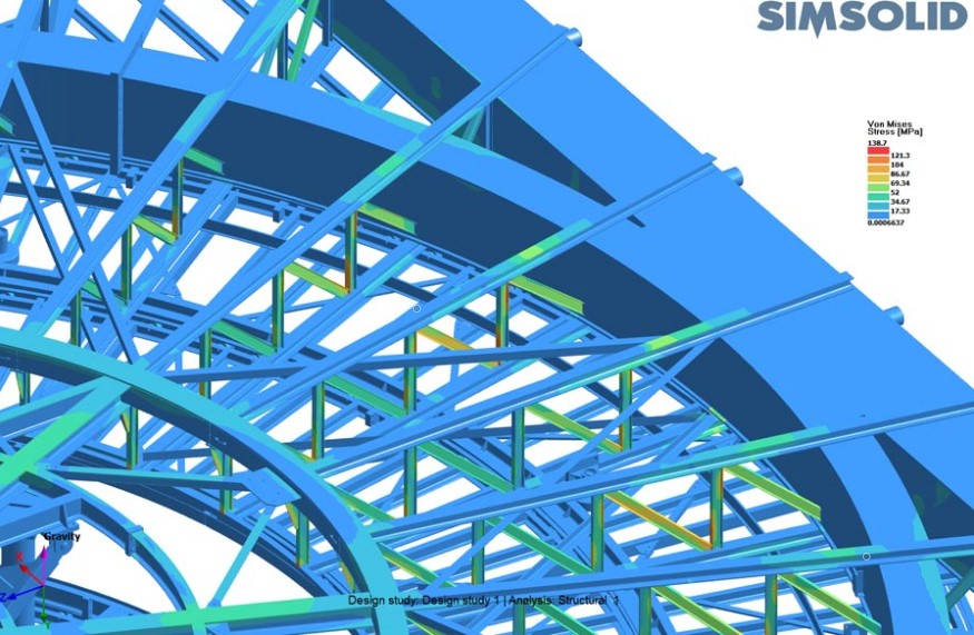 Structural analysis case detail large as