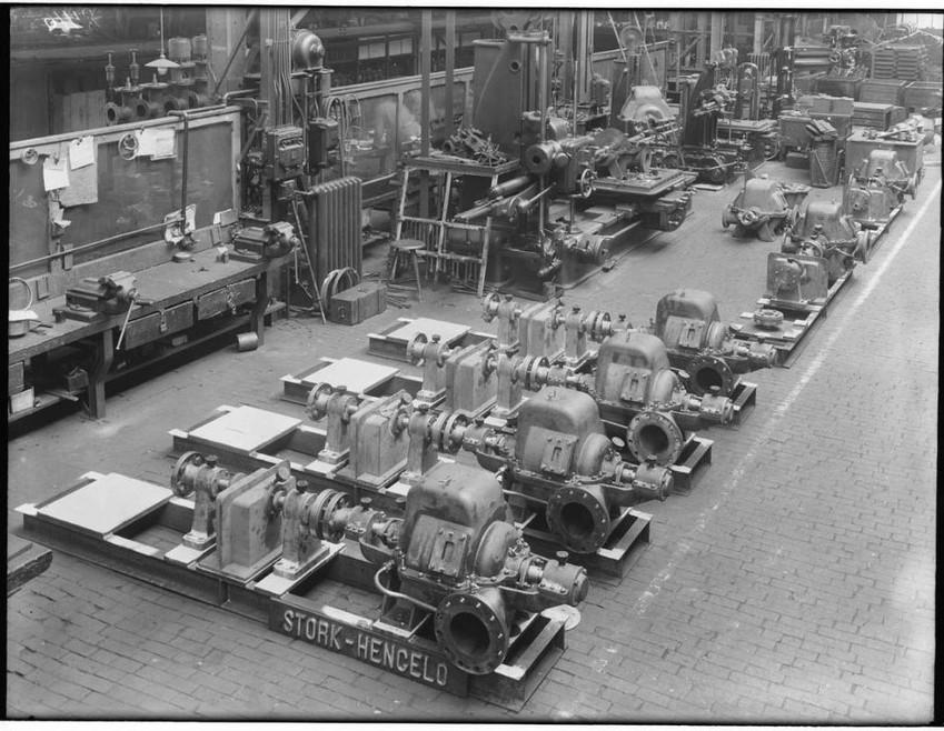 Stork Benzinepompen 1934-1936