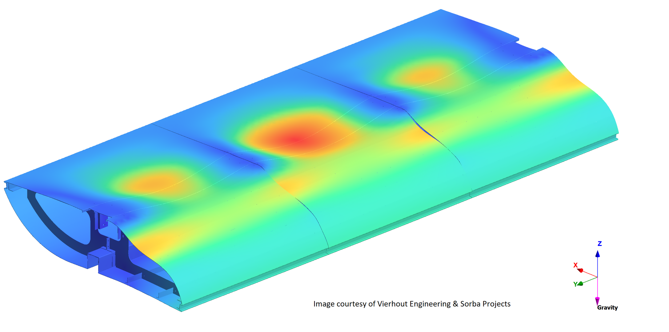 Structural Mechanical Analysis FEA FEM Construction - Architecture Wall Panel