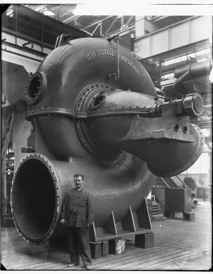 Stork centrifugaalpomp 1925-1927