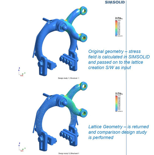 Structural analysis Simsolid efficiency