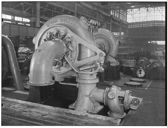 Stork Waterturbines 1954