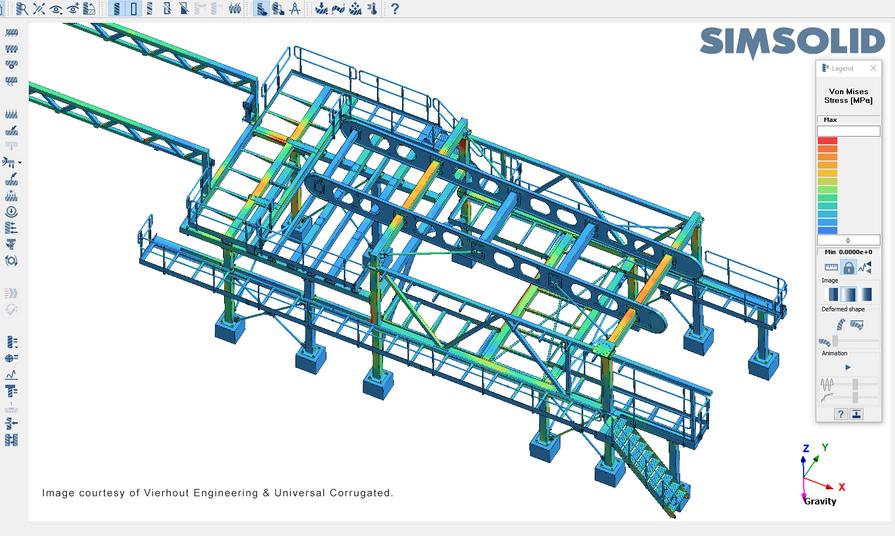 Vierhout Engineering SimSolid - Structural FEA - sterkteberekening