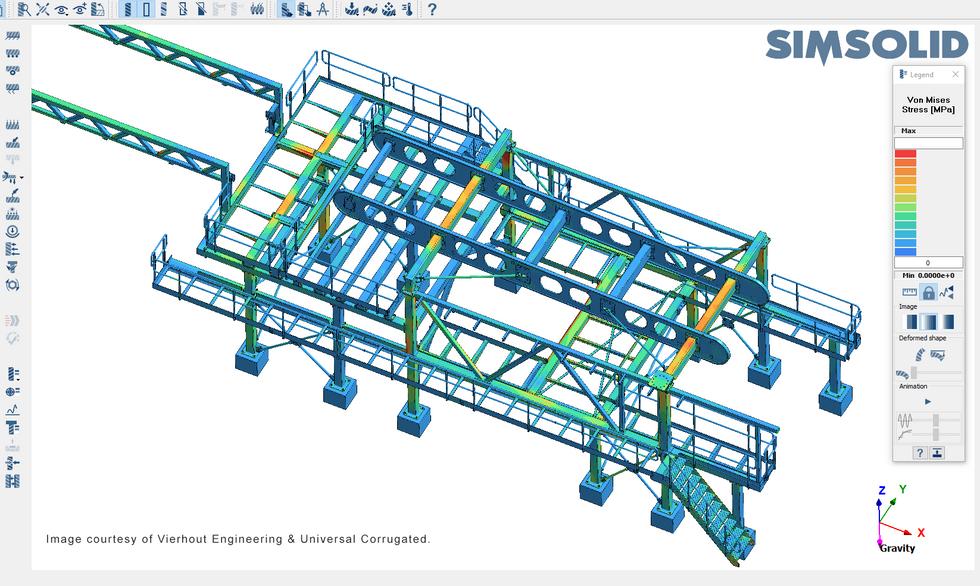 Vierhout Engineering SimSolid - Structur