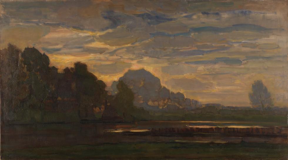 Piet Mondriaan - Ven bij Saasveld - 1907