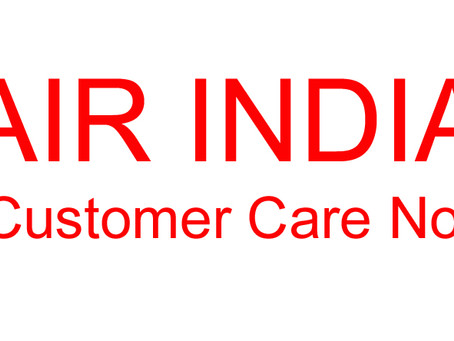Air India customer care Number & Air india Customer Service Email