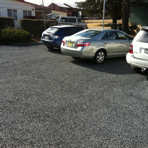 Bitumen Carpark