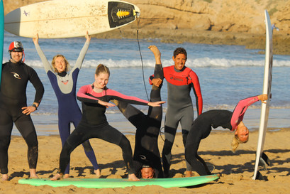 Surf Yoga In Morocco