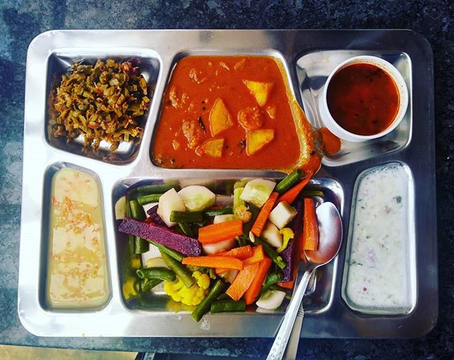 Thali Vegan Yoga India