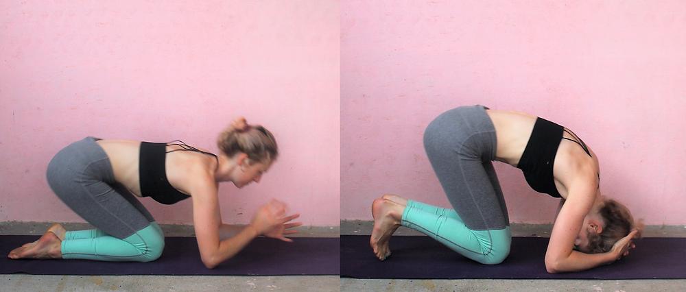 Headstand Sirsasana Yoga