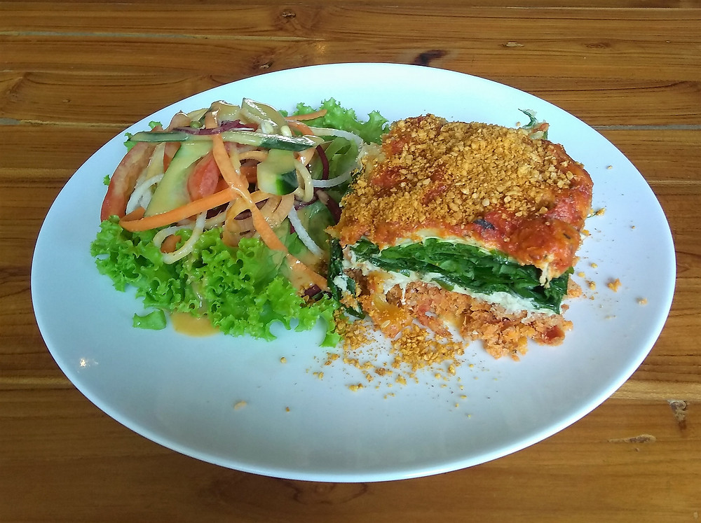 Raw Vegan Lasagne Yoga