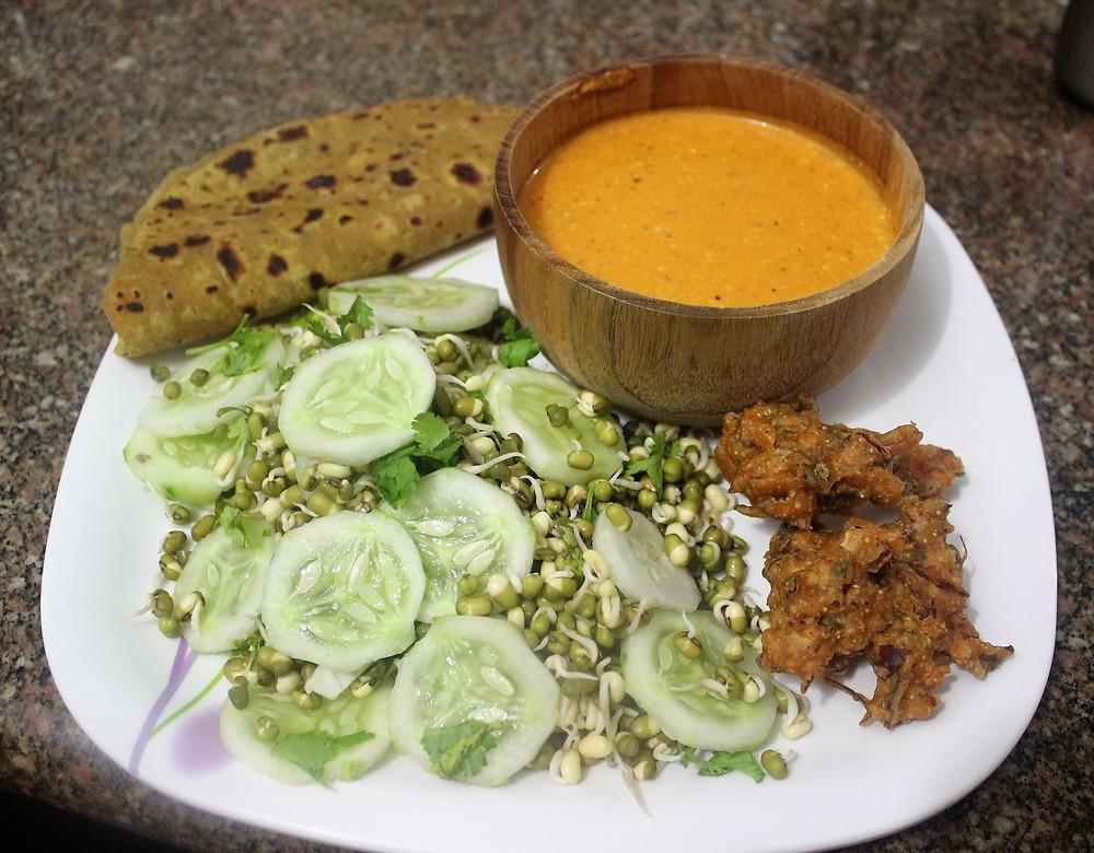 Indian Dinner Vegan
