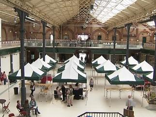 Burton-on-Trent's Market Hall Reopens