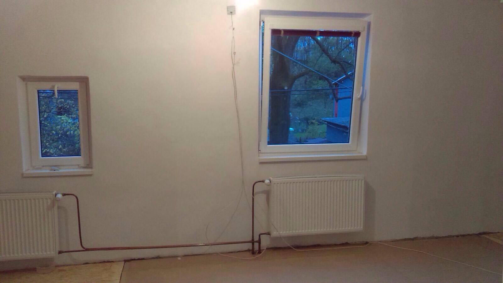 Remont sypialni - nowe powierzchnie ścian