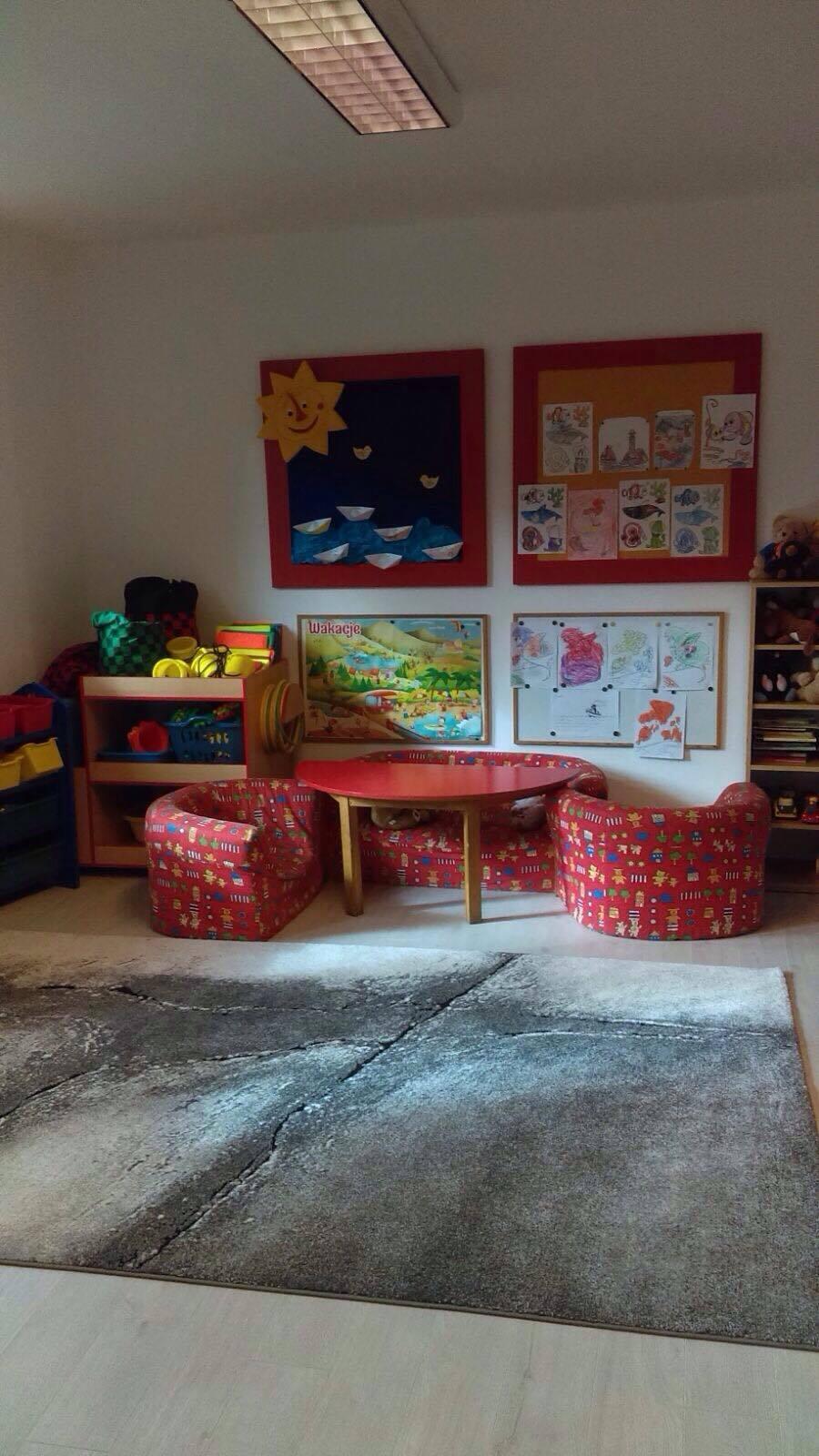 Remont w parterze - sala zabaw