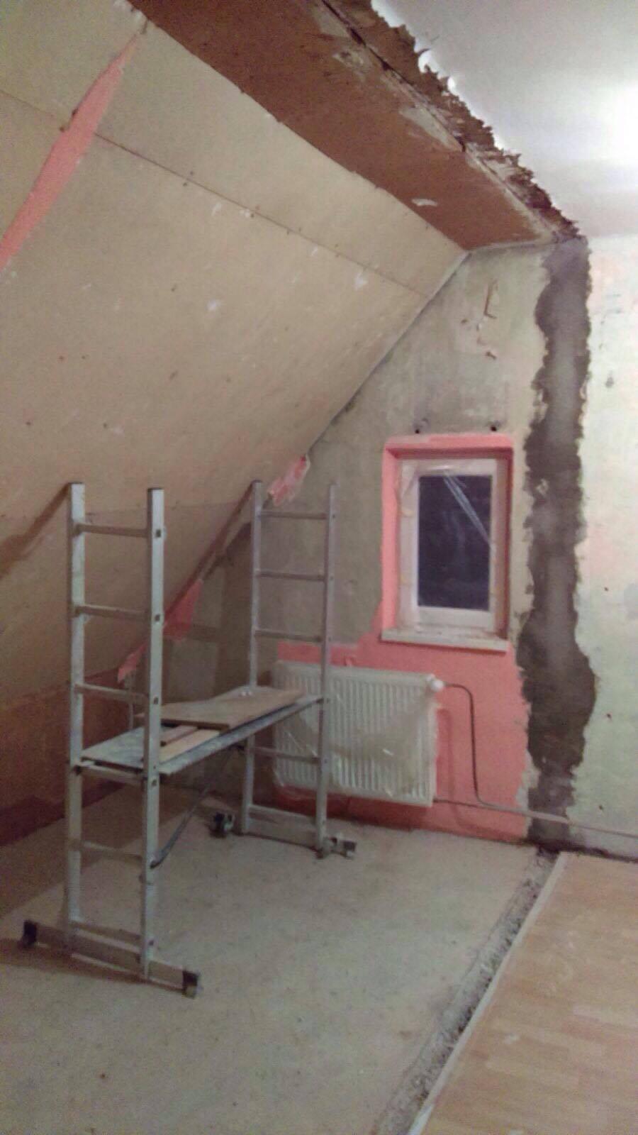 Remont sypialni - połączenie dużej i małej sypialni
