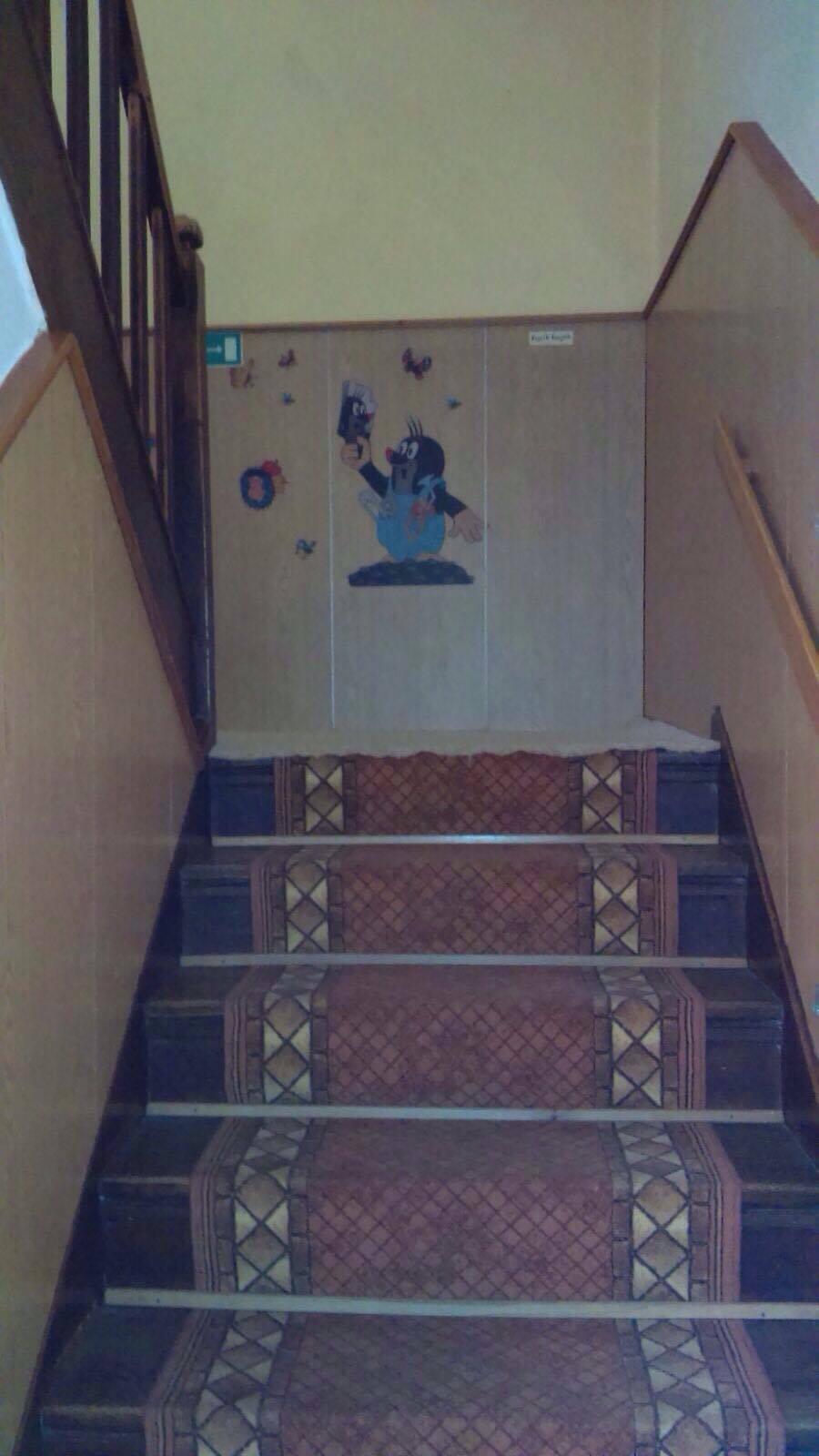 PRZED REMONTEM - schody